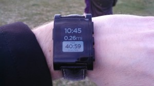 Runkeeper on pebble