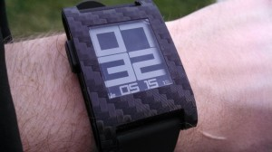 Revolution watchface on pebble
